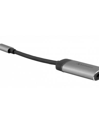 Redukcia Verbatim USB-C/Hdmi 4K sivá