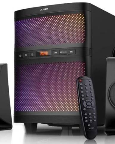Reproduktory Fenda F&D F580X 2.1, bluetooth, rádio, USB, dálkové