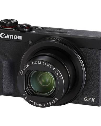 Digitálny fotoaparát Canon PowerShot G7X Mark III čierny