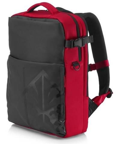 """Batoh na notebook  HP Omen Gaming Backpack pro 17"""" čierny/červený"""