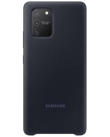 Kryt na mobil Samsung Silicon Cover na Galaxy S10 Lite čierny