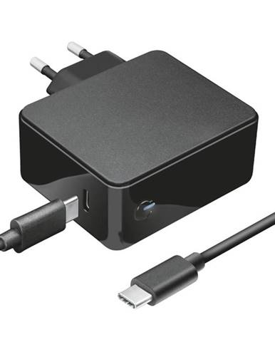 Sieťový adaptér Trust Maxo 61W pro notebooky Apple Macbook, USB-C