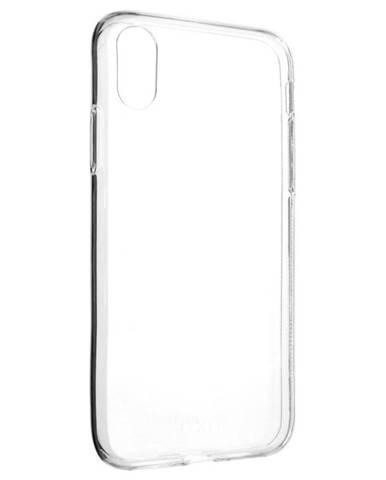 Kryt na mobil Fixed Skin na Apple iPhone X/Xs priehľadný