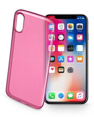 Kryt na mobil CellularLine na Apple iPhone X/Xs ružový