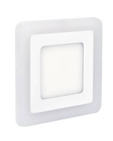 LED panel Solight čtverec, 245 x 245 mm, 18W + 6W, 1530lm biely