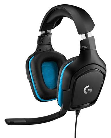 Headset  Logitech G432 7.1 Surround Sound čierny