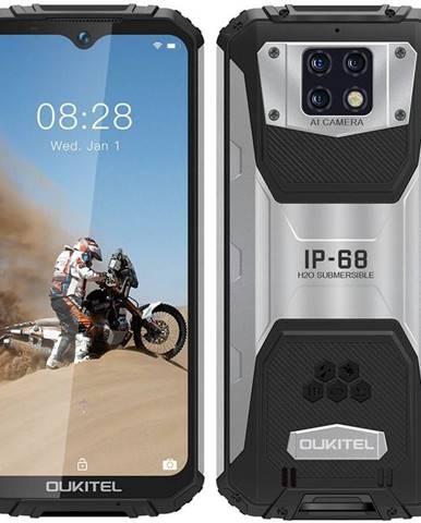 Mobilný telefón Oukitel WP6 strieborný