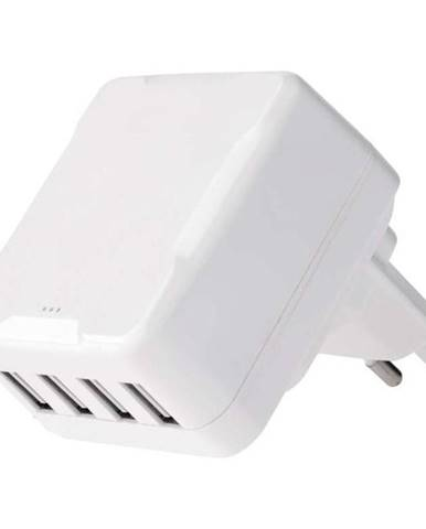 Nabíjačka do siete Emos Smart 4x USB, 6,8A