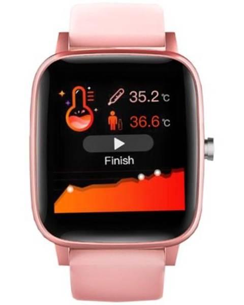 Carneo Inteligentné hodinky Carneo Soniq+ woman ružová