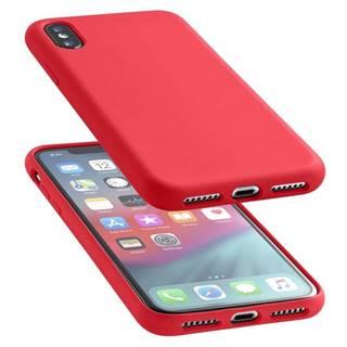 Kryt na mobil CellularLine Sensation na Apple iPhone Xs Max červený