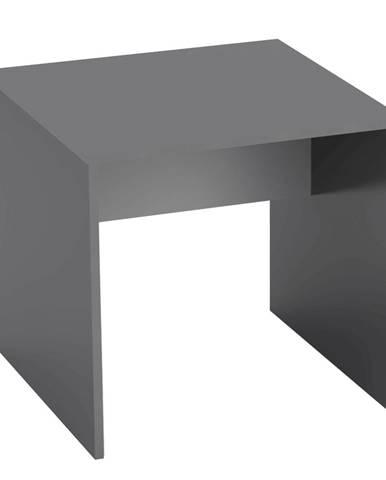 Písací stôl grafit/biela RIOMA TYP 17
