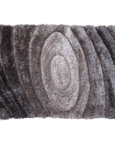 Koberec sivý vzor 200x300 VANJA