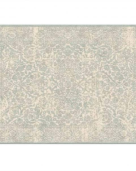 Kondela Koberec krémová/sivý vzor 140x200 ARAGORN