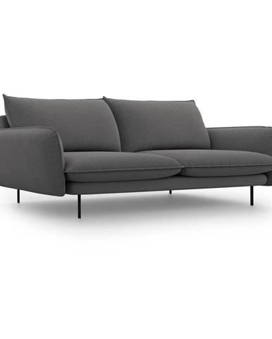 Tmavosivá pohovka Cosmopolitan Design Vienna, 230 cm