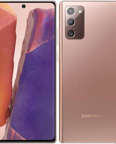 Mobilný telefón Samsung Galaxy Note20 bronzový