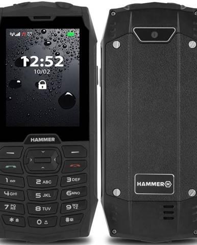 Mobilný telefón myPhone Hammer 4 Dual SIM čierny