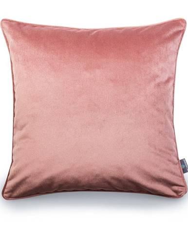 Ružová obliečka na vankúš WeLoveBeds Heard Wood, 50 × 50 cm