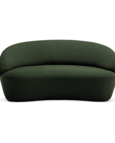 Zelená vlnená pohovka EMKO Naïve, 162 cm