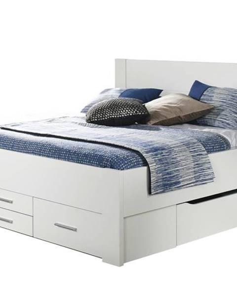 Sconto Posteľ ISOTTA SON biela, 180x200 cm