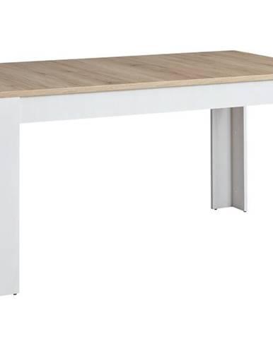Jedálenský stôl ROMANCE smrekovec/dub sanremo