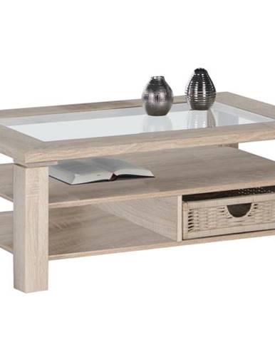 Konferenčný stolík LAZY A4 dub sonoma