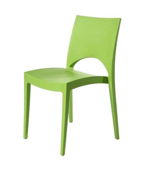 Sconto Jedálenská stolička PARIS zelená