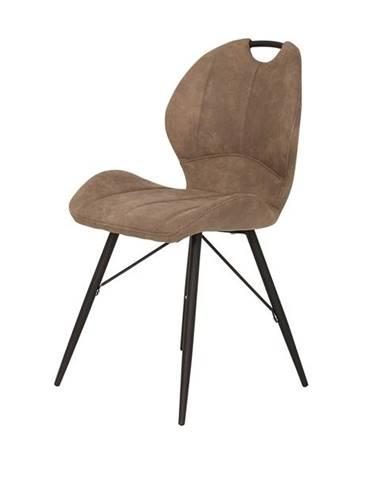 Jedálenská stolička KATE S hnedá