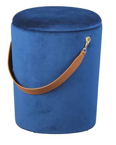 Taburet PAPUA modrá