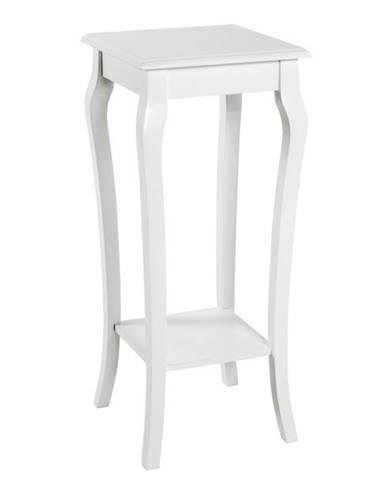 Prístavný stolík PROVENCE biela
