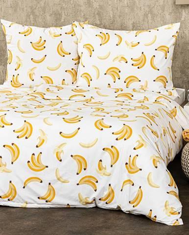 4Home Obliečky Banány micro, 220 x 200 cm, 2 ks 70 x 90 cm