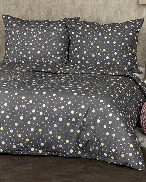 4Home 4Home bavlnné obliečky Bodky pastel, 160 x 200 cm, 70 x 80 cm