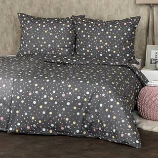 4Home bavlnné obliečky Bodky pastel, 160 x 200 cm, 70 x 80 cm